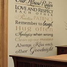 Couples Love Rules Decal Wisedecor Wall Lettering