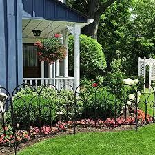 18 X18 5 Panel Metal Garden Border Fence For Path Flower Garden Edging Fencing For Sale Online Ebay