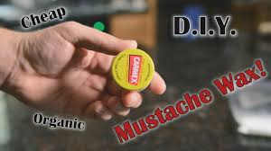 top 5 diy homemade mustache wax recipes