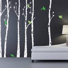 Birch Tree Wall Decal Canada Uk With Owl For Sale Design Peel And Stick Hobby Lobby Realistic Stickers Australia Vamosrayos