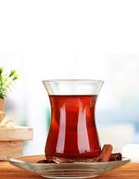 paşabahçe sylvana turkish tea cups x6