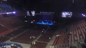 section 110 at mohegan sun arena for