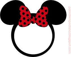 Minnie Con Lunares En Rojo Invitaciones Y Etiquetas Para Candy