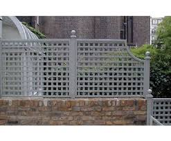 Stone Wall With Trellis On Top Outdoor Living Pinterest Garden Trellis Panels Trellis Panels Garden Trellis