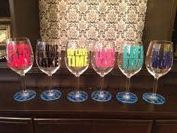 Custom Lake Sayings Vinyl Wine Tumbler Glass Decals Etsy