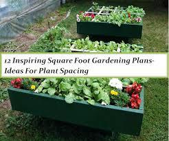 square foot gardening plans ideas