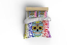 timewarp sugar skull duvet covers home