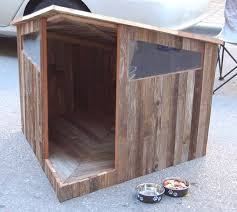 Look Recycled Fence Doghouse Apartment Therapy Dog House Diy Diy Dog Stuff Dog House