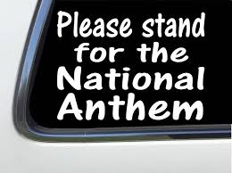 Thatlilcabin Please Stand For The National Anthem 6 Etsy