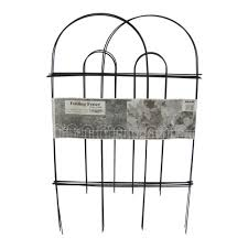 Glamos Wire Products Glamos Wire 32 In Black Garden Folding Fence 50 Pack 770160 The Home Depot