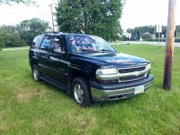 2000 chevy tahoe suv 4x4 3rd row seats