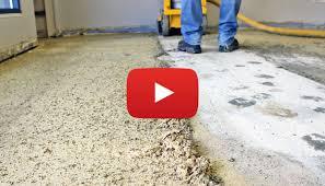 heavy carpet glue removal