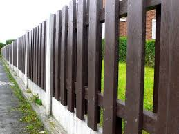 Garden Fence Panel Recycled Plastic Heavy Duty