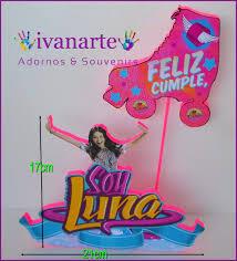 Soy Luna Invitacion Editada Con Nombre Floresta 6 00 En