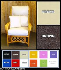 replacement cushion covers cane rattan
