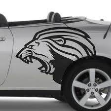 Lion Fierce Growling Car Vinyl Vehicle Graphic Decal Side Hood Truck Pickup Bed Ebay