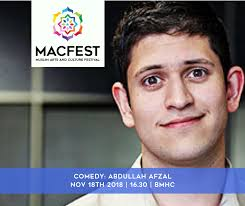 MACFEST - Free comedy performance by Abdullah Afzal, who... | Facebook