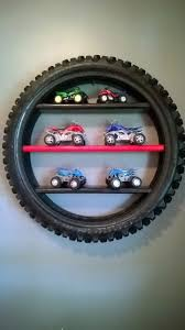 Tire Display Shelf By Bmproducts On Etsy Kids Room Truck Room Bike Room