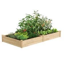 Best Value Cedar Raised Garden Bed Planter 48 W X 96 L X 10 5 H Rcec6t21b In 2020 Cedar Raised Garden Beds Cedar Raised Garden Raised Garden