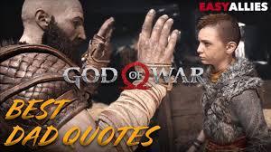 god of war best dad quotes