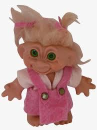 vine thomas dam troll doll with rare
