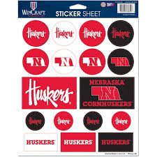 University Of Nebraska Car Decals Decal Sets Nebraska Huskers Car Decal Shop Huskers Com