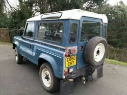 land rover defender county 1986 petrol