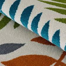 blue green outdoor rug lime and kailani