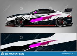 Car Decal Wrap Design Graphic Abstract Stripe Racing Background Kit Designs For Vehicle Race Car Rally Adventure And Li Stock Illustration Illustration Of Camouflage Design 143001067