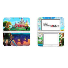 The Legend Of Zelda Full Cover Decal Skin Sticker For New 3ds Xl Skins Stickers For New 3ds Ll Vinyl Protector Skin Sticker Stickers Aliexpress