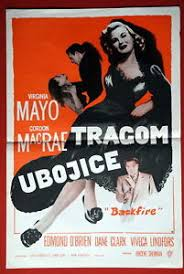 BACKFIRE GORDON MACRAE VIRGINIA MAYO 1950 RARE EXYUGO MINI MOVIE ...