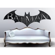Shop Full Color Batman Logo Full Color Decal Batman Symbol Full Color Sticker Wall Art Sticker Decal Size 48x76 Overstock 14386878