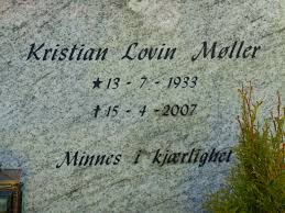 Kristian Lovin Møller (1933 - 2007) - Genealogy