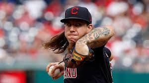 emerges in pursuit of Mike Clevinger ...