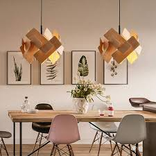 acrylic leaves led pendant lamp