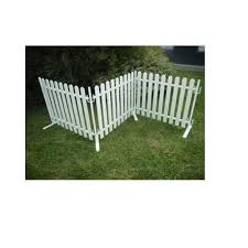 Picket Fence Panels Plastic Fence Panels Manufacturer From Amritsar