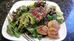 My Take on Seared Tuna Salad : Cooking