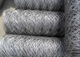 Galvanized Hexagonal Wire Mesh Chicken Wire Fencing For Poultry Farming