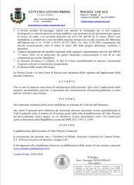 Coronavirus, a Castano vietati il passeggio e l'attività sportiva ...