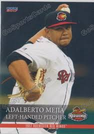 2017 Rochester Red Wings Adalberto Mejia – Go Sports Cards