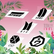 Kpop Group Logo Multiple Design Vinyl Decal Pick 1 Etsy