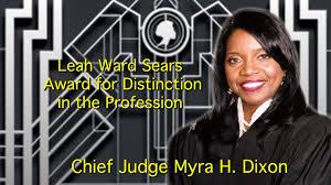 GABWA 2015 Chief Judge Myra H. Dixon - YouTube