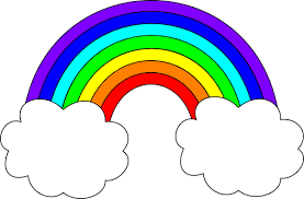 Rainbow with Clouds Clip Art | rainbow with clouds clip art | Rainbow  clipart, Clip art, Rainbow pictures