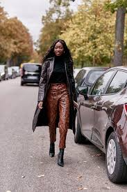 10 leather pants outfits that are so