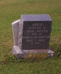 "Abigail ""Abbie"" Meyer Harter (1841-1904) - Find A Grave Memorial"