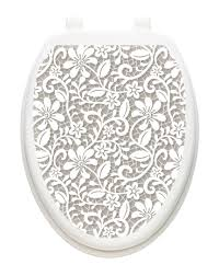 Toilet Tattoos Lovely Lace Toilet Seat Decal Reviews Wayfair