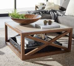 grove square coffee table pottery