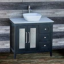 solid wood 36 bathroom vanity cabinet