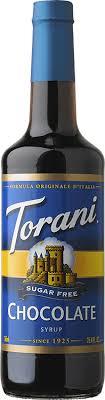 torani sugar free chocolate syrup
