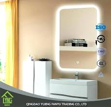 led wall mirror full length with lights